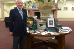 Author Martin J. McFie at launch of New Book - Hilton Head Island - Emerald of the South at Dvorak Concert